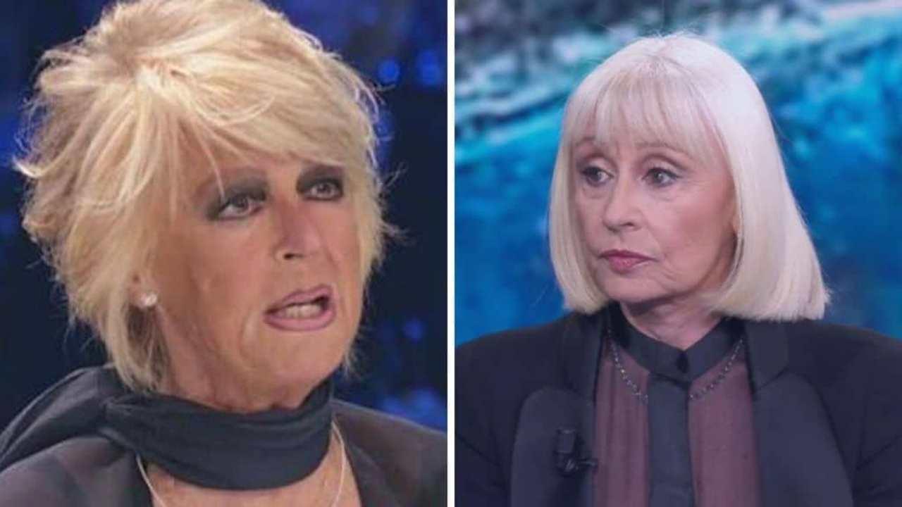Loretta Goggi e Raffaella Carrà