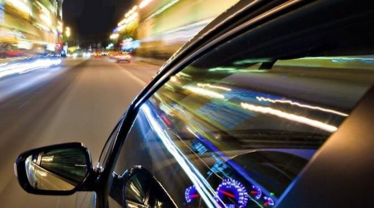 Auto a tutta velocità