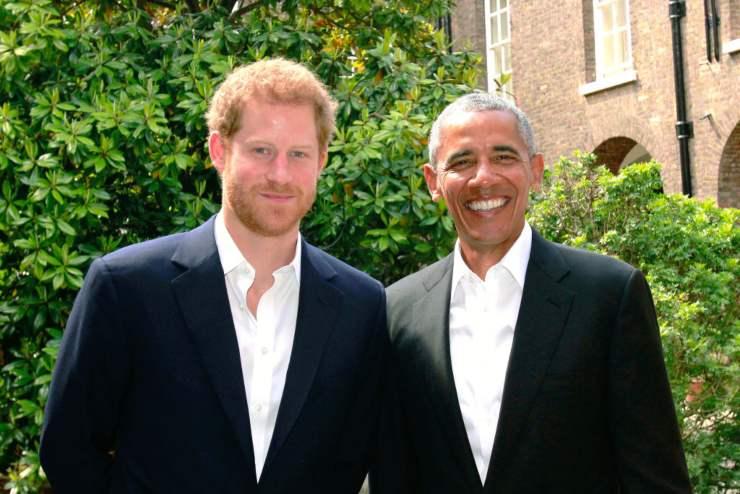 Harry e Obama