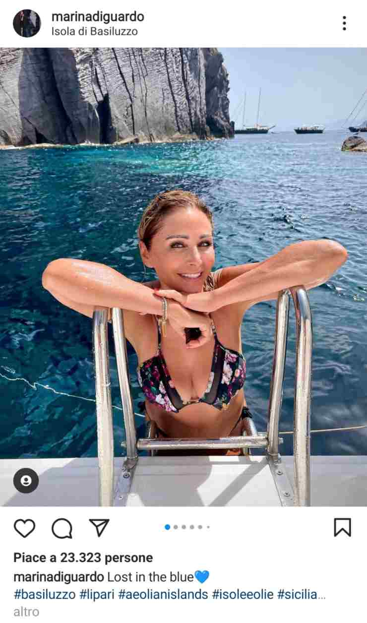 Marina Di Guardo bikini