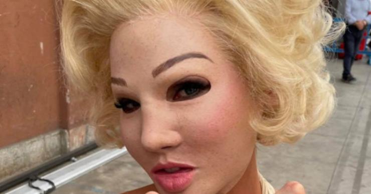 Maschera Marilyn