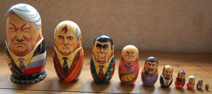 Matrioska personaggi politici