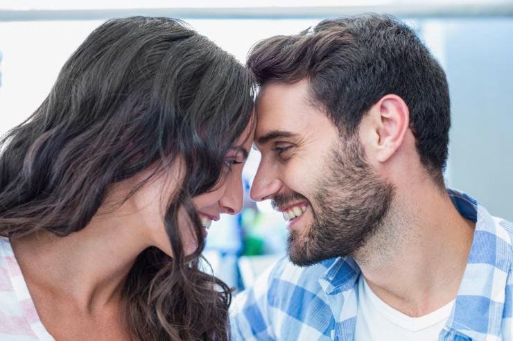Una coppia felice