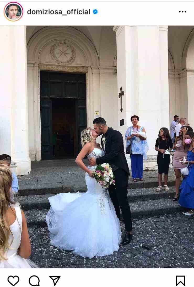 Domiziana Giovinazzo matrimonio