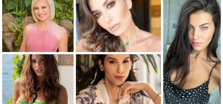 Antonella Elia, Elisabetta, Antonella Fiordalisi, Paola e Carolina