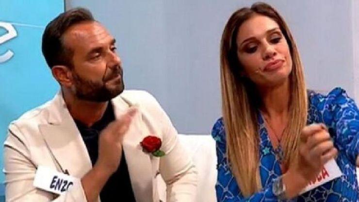 Enzo Capo con la ex Pamela Barretta