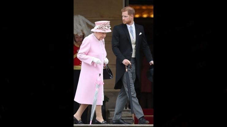 Harry Regina Elisabetta