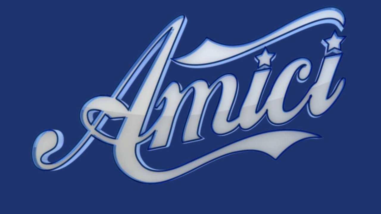 Logo di Amici 2021