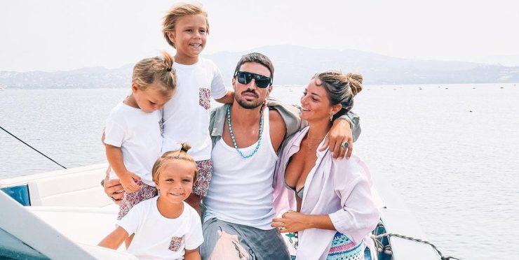 Mariano, Eleonora e figli