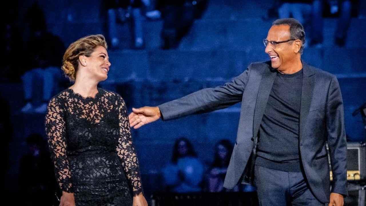 Vanessa Incontrata e Carlo Conti