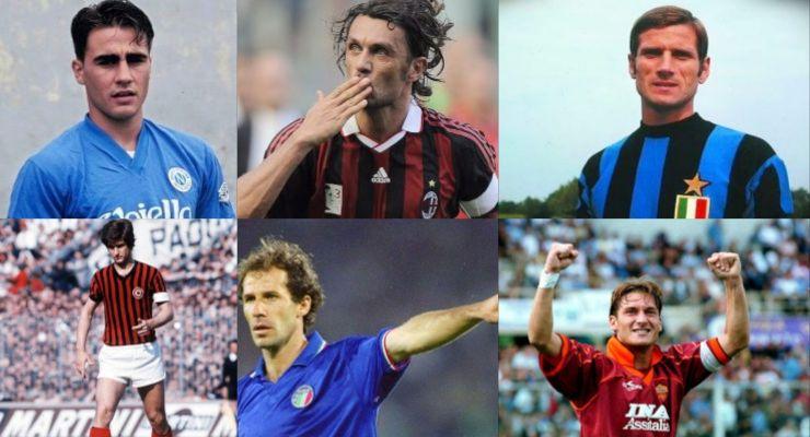 Test calciatore italiano preferito
