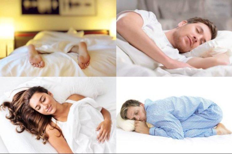 Test posizione preferita per dormire
