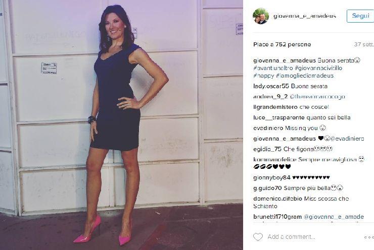 Giovanna Civitillo su Instagram
