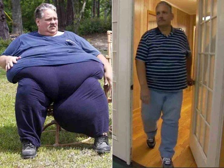 Chuck Turner prima e dopo