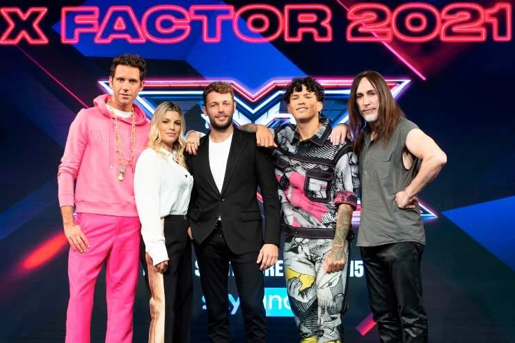 Test programma televisivo X Factor