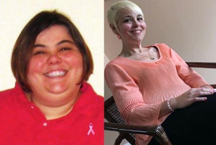Paula Jones prima e dopo